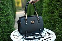 Женская кожаная сумка Ninel'  цвет Черный