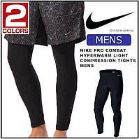 Термо-компрессионные лосины Nike Pro Combat  Men's Hyperwarm Light Compression Tights Leggings, фото 1