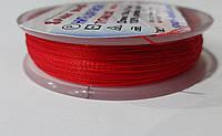"""Нить  для  вышивки  """"TYTAN""""  100 м/0.1 мм   (2520) красный"""