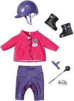 Жокейская одежда и обувь для куклы Baby Born Zapf Creation 822340