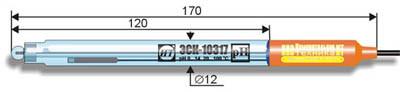 Комбинированный рН-электрод ЭСК-10317 промышленный