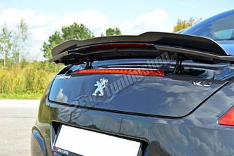 Накладка на спойлер тюнинг Peugeot RCZ