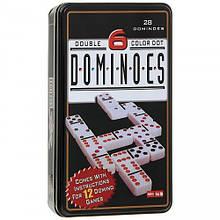 Домино в металлической коробке (0890)