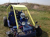 Обучение детей вождению на багги.