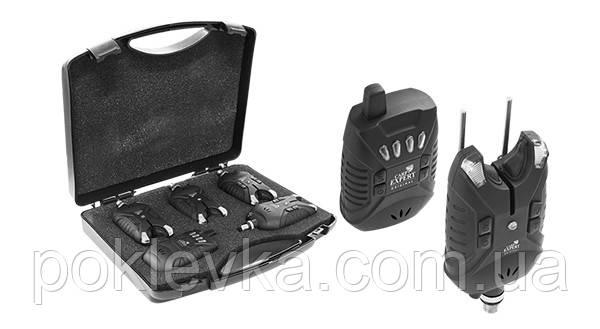 Набор радио сигнализаторов Carp Expert Tevere (3+1) 200 м