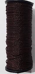 Нить капрон коричневая ( Текс №375 )  обувная