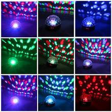Світлодіодний диско-куля з флешкою і пультом в комплекті LED Flash CRYSTAL BALL