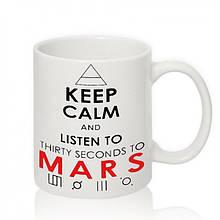 Авторская чашка '30 Seconds to Mars'