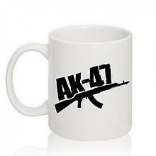 Авторская чашка 'AK-47'