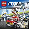 Конструктор Lepin 02020 Город Полицейский участок (аналог Lego City 60141), фото 5