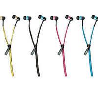 Вакумные наушники на молнии, Zipper Earphones