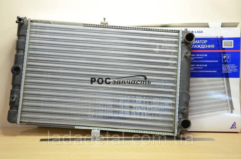 Радиатор ВАЗ 2108, 2109, 21099, 2113, 2114, 2115 карбюраторный двигатель АвтоВАЗ ОРИГИНАЛ