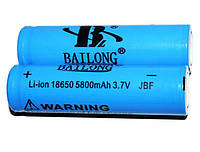 Акумулятор Bailong 3.7 V 18650. 5800mAh