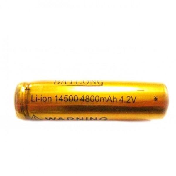 Аккумулятор BAILONG Li-ion 14500 4800mAh 4.2V