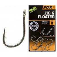 Крючки 8, 10 шт. (Edges Armapoint Zig & Floater Sz 8)