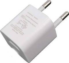 Сетевое зарядное устройство 220В на USB(5В/1000mAM)