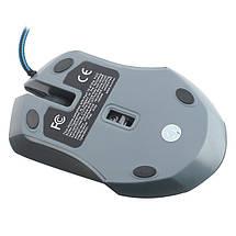 Ігрова миша X2 Wired Senior Gaming Mouse with Adjustable DPI (Grey), фото 3