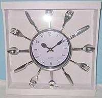 Часы кухонные Ложки-Вилки-Ножи
