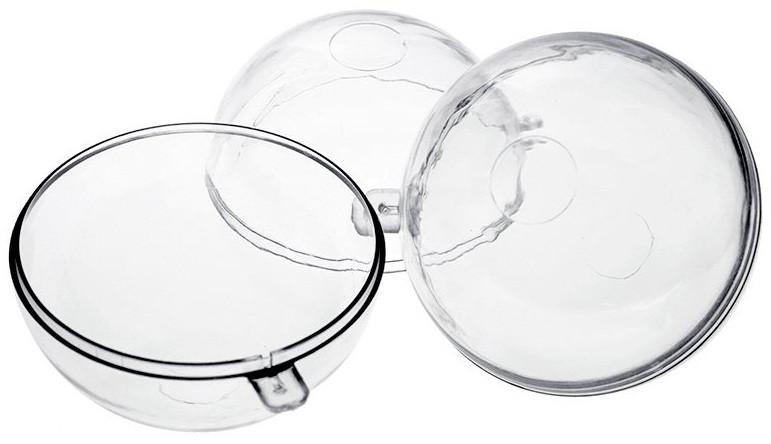 Заготовка из пластика - шар пластиковый 8 см