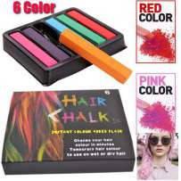 Крейда для тимчасової фарбування волосся Hair Chalk 6, фото 2