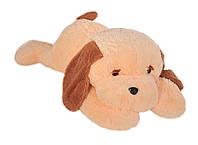 Собака Тузик 65 см персиковый