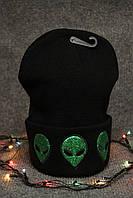 Молодежная шапка 3 цвета черная, красная, серая, зимняя шапка