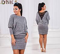 Платье ангора большие размеры (цвета) /р1542, фото 1