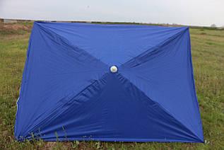 Зонт 2х3 с серебряным напылением