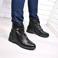Ботинки женские Roana черные ЗИМА 3724 , ботинки женские