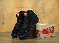 Кеды Vans Sk8 High All Black ванс унисекс (С Мехом) 1e9212b7b5b8a