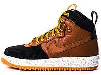 Nike Lunar Force Duckboot Brown, фото 1