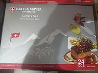 Набор столовых приборов Bachmayer (Switzerland) на 6 персон, 24 предмета