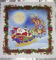 Новогодние подарки, сувениры, Салфетка 24*24см