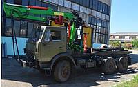 Кран- маніпуляторSG-7500 на шасі КАМАЗ