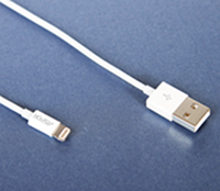 Оригинальный USB кабель Aspor Lightning K-06PE