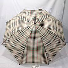 Зонт трость в клеточку
