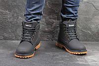 Ботинки мужские Timberland (темно-синие)