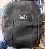Автомобильные чехлы на сидения PREMIUM KIA CEE`D 2007-12г. з/сп и сид.2/3 1/3;5подгол;бочки;airbag, фото 1