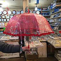 """Детский зонт трость Star Rain """"Ажурный 1"""" полуавтомат, 8 спиц"""