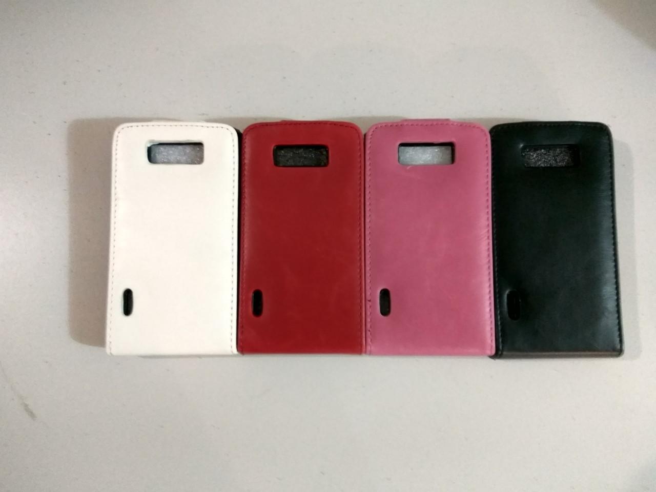 Качественный чехол книжка LG Optimus L7 P705 3цв.