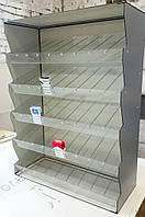 """Сигаретный диспенсер """"Лесенка"""", шкаф для сигарет на 45 блоков"""