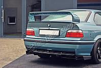Диффузор заднего бампера губа юбка тюнинг элерон BMW E36 M3 Coupe