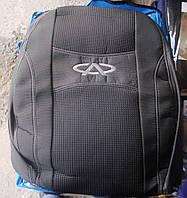 Автомобильные чехлы на сидения PREMIUM CHERY KIMO 2007г… з/сп и сид.2/3 1/3;4подгол;airbag