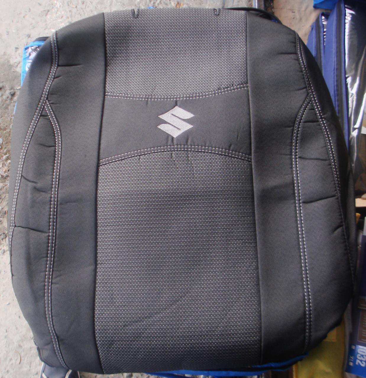 Авточехлы PREMIUM SUZUKI GRAND VITARA II 2005 автомобильные модельные чехлы на для сиденья сидений салона SUZUKI Сузуки GRAND VITARA