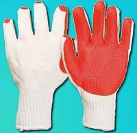 Перчатки стекольщика с вулканизированной резиной