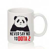 Авторская чашка NEVER SAY NO TO DOTA 2