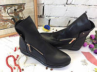 Женская осенняя обувь 2017   501/КНОПКА  октЕв