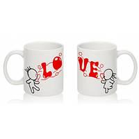 Парные чашки LOVE