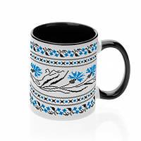 Чашка с украинским орнаментом №1