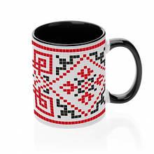 Чашка с украинским орнаментом №6